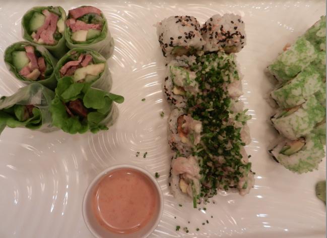 god sushi i valby hos Sticks'n'Sushi